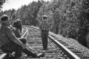 Rodina na kolejích