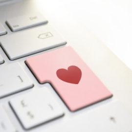 Srdce na klávesnici