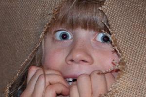 Vystrašené dítě